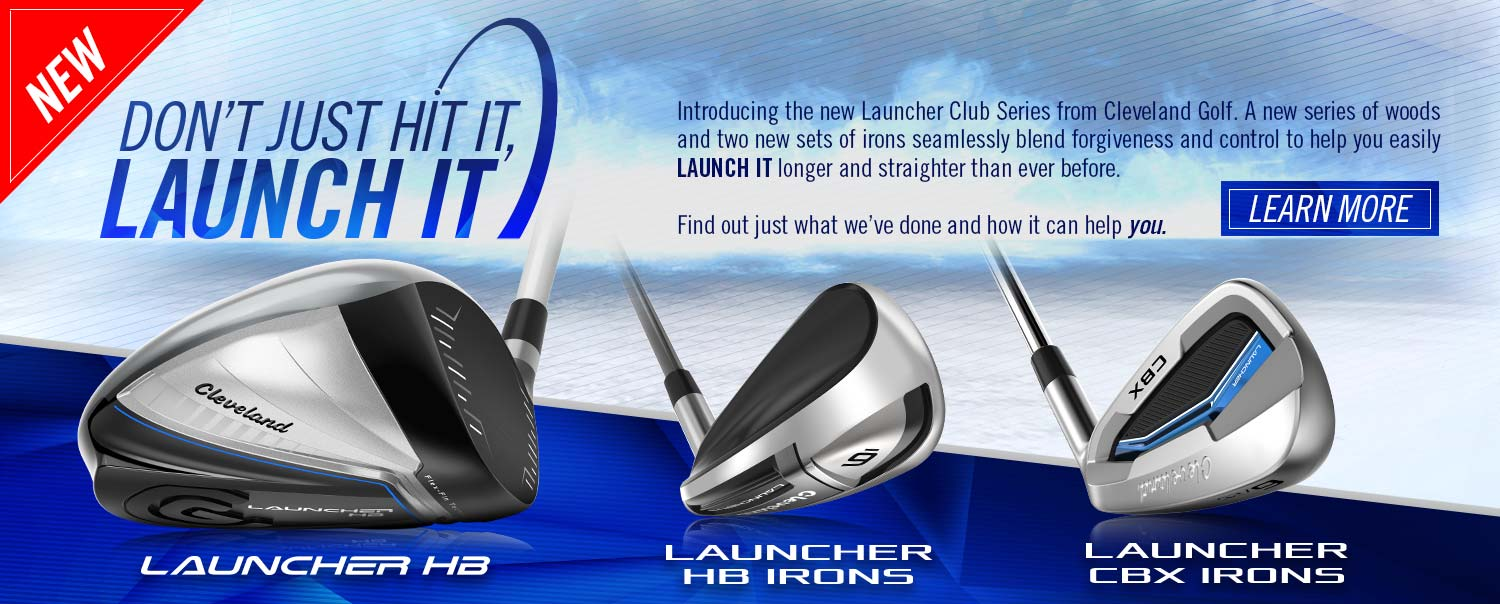 New Cleveland Golf Launcher Clubs