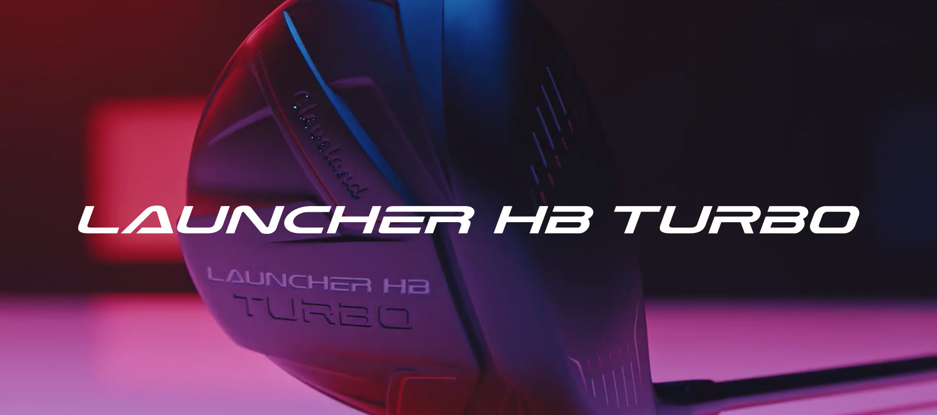 Cleveland Golf Launcher HB Turbo Woods image prism