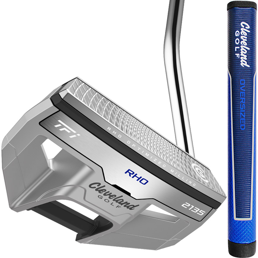 TFI 2135 SATIN - RHO PUTTER, O/S GRIP,